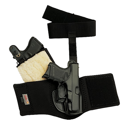 Galco AG646B Ankle Glove Holster Fits Ankles up to 13