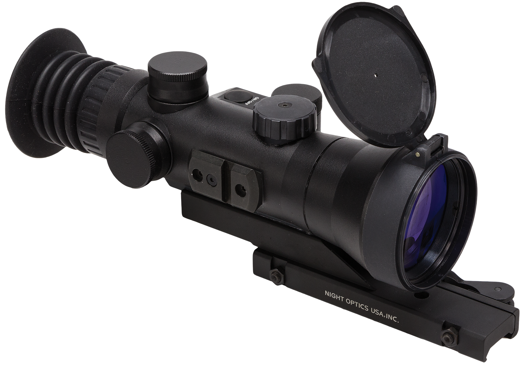 Night Optics NS7303S D-730 Night Vision Scope 3rd Gen 3.7x 85mm 8.5 degrees FOV