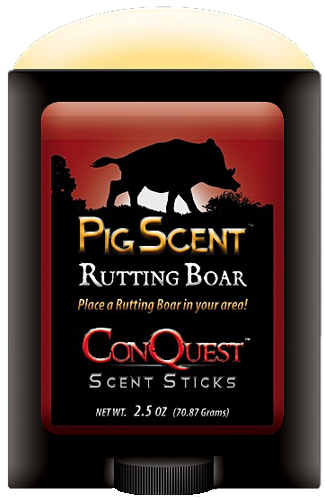 Conquest Scents 1247 Pig Scent Stick Boar 2.5 oz