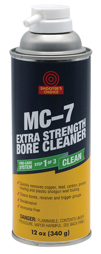 Shooters Choice MC7XT MC #7 Extra Strength Bore Cleaner Bore Cleaner 12 oz