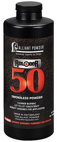 Alliant 150527 Reloder 50 Smokeless Rifle Powder 1lb 1 Canister