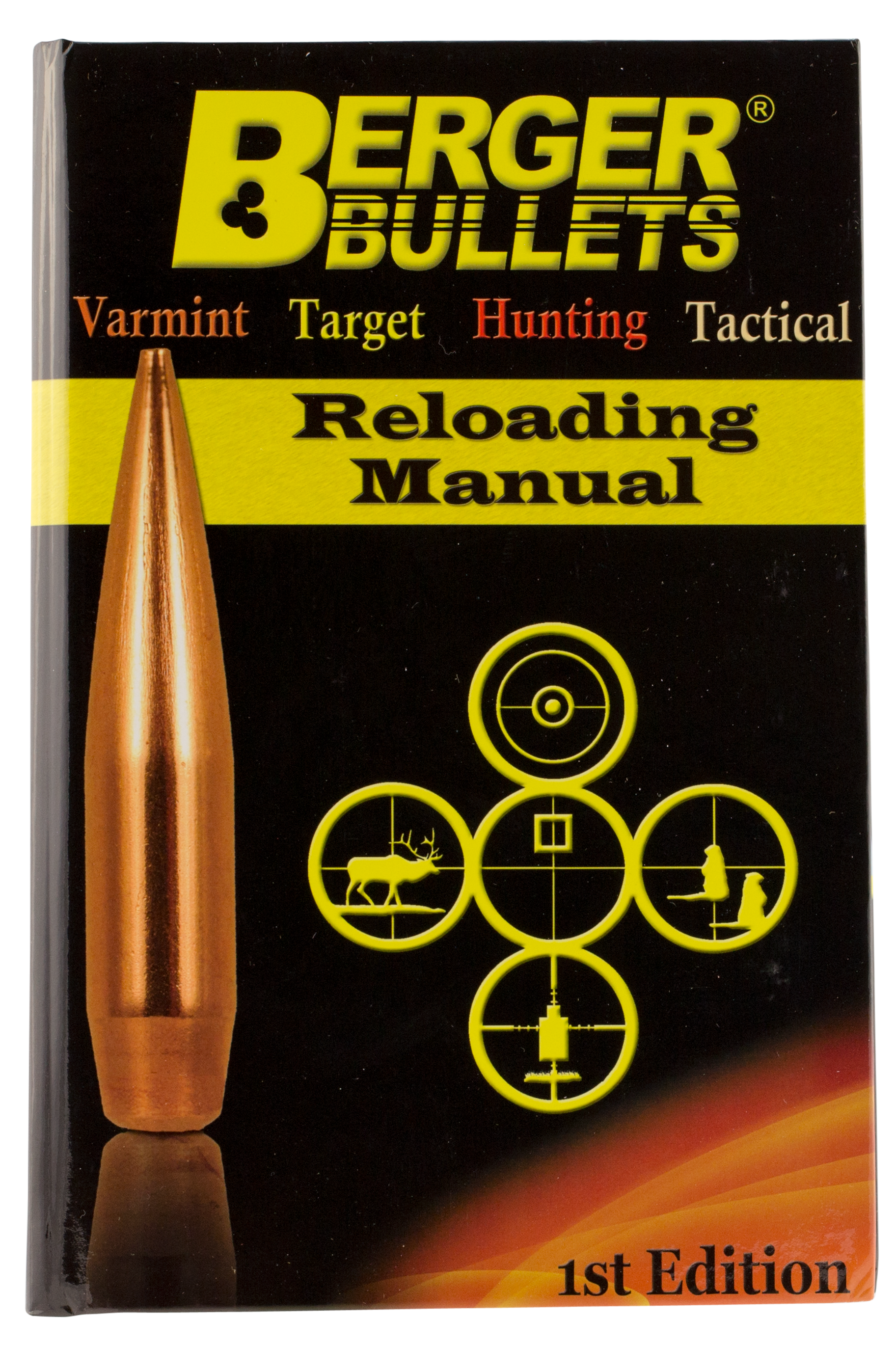 Berger Bullets 11111 Reloading Manual Book 1st Edition