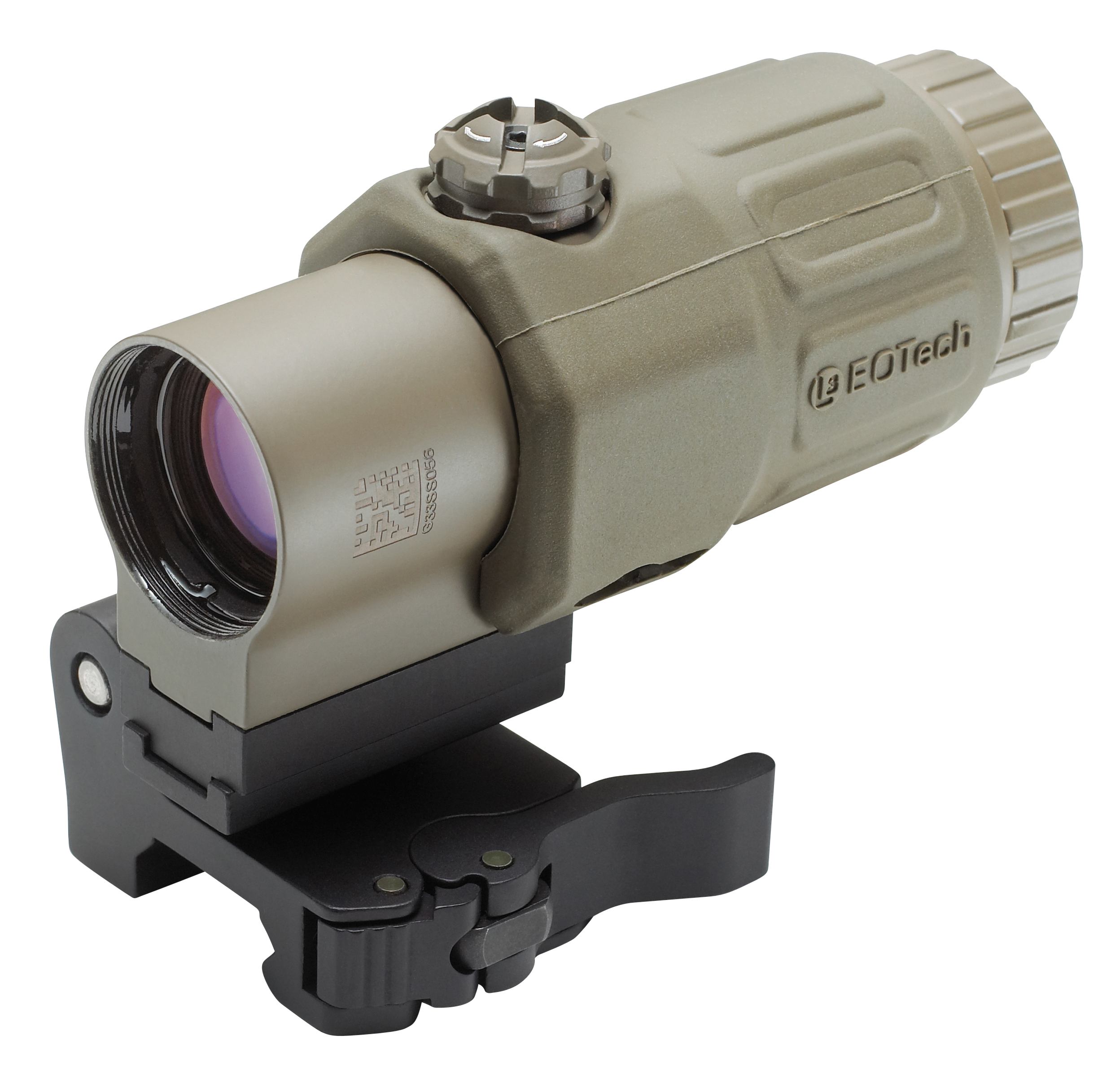 Eotech G33STSTAN G33 STS Switch to Side Magnifier 3x Tan