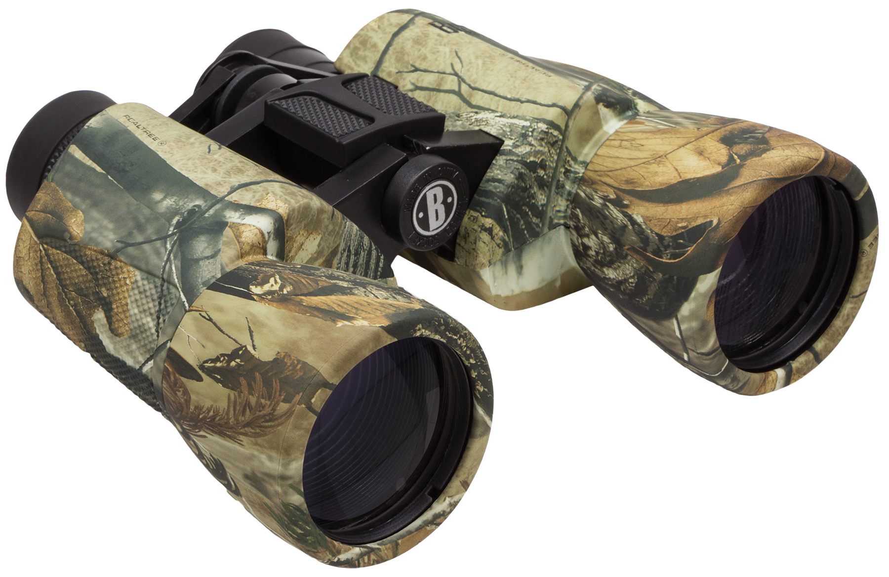 Bushnell 131055 Powerview 10x 50mm 341 ft @ 1000 yds FOV 10mm Eye Relief Realtree AP Rubber Armor
