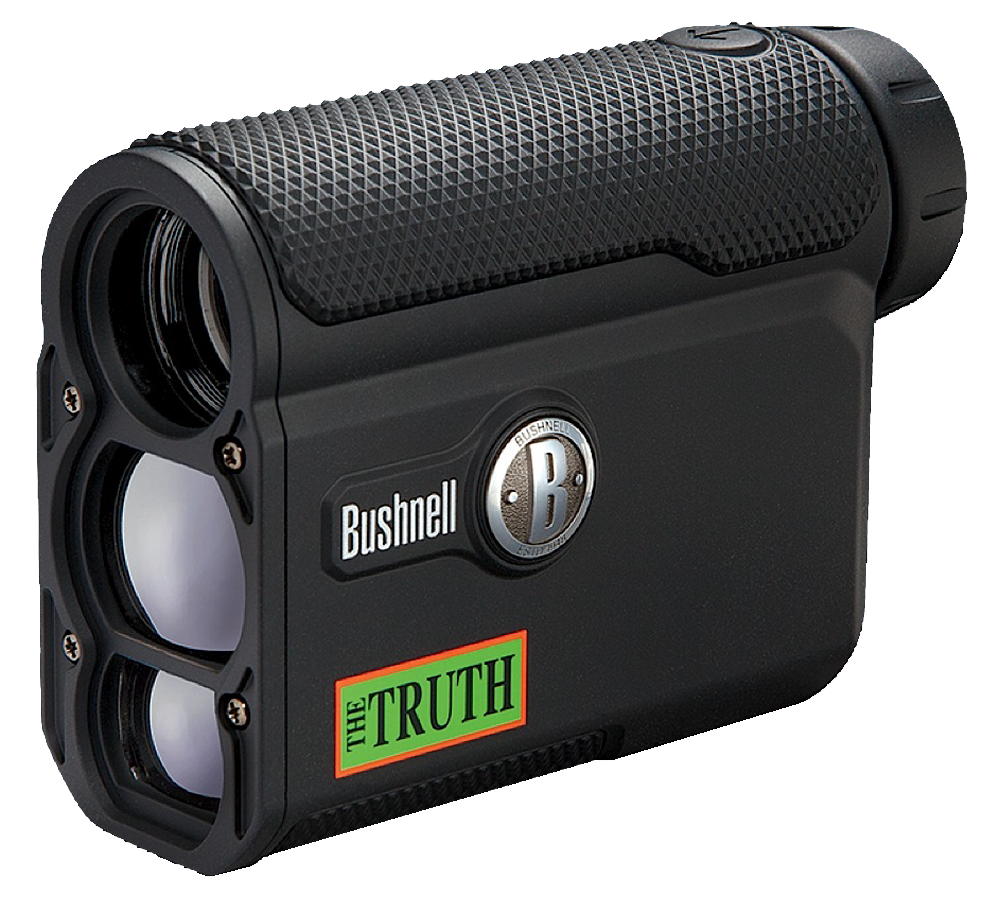 Bushnell 202342 Truth w/ARC Laser Rangefinder 4X Range 7 - 850yds Case Black