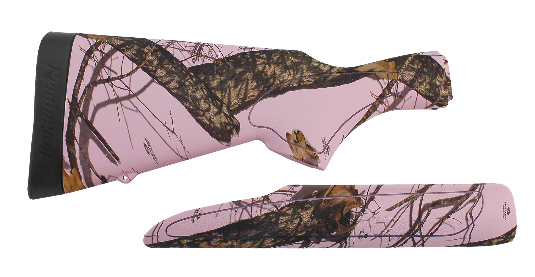 Remington 19529 870 20ga Stock/Forend Syn Mossy Oak Pink