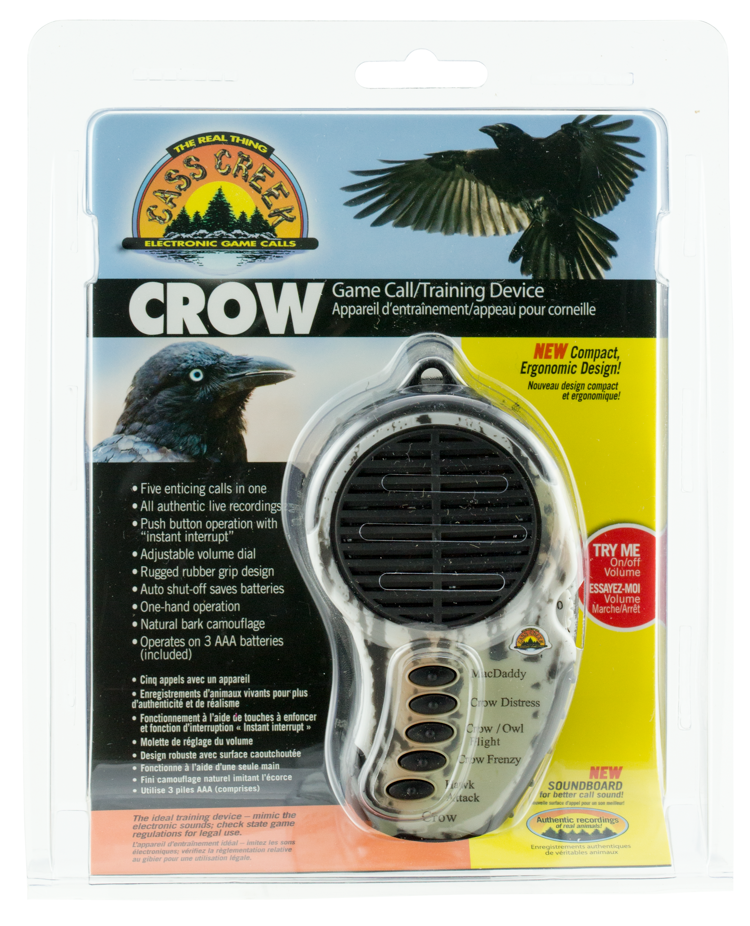 Cass Creek 065 Ergo Crow Electronic Call