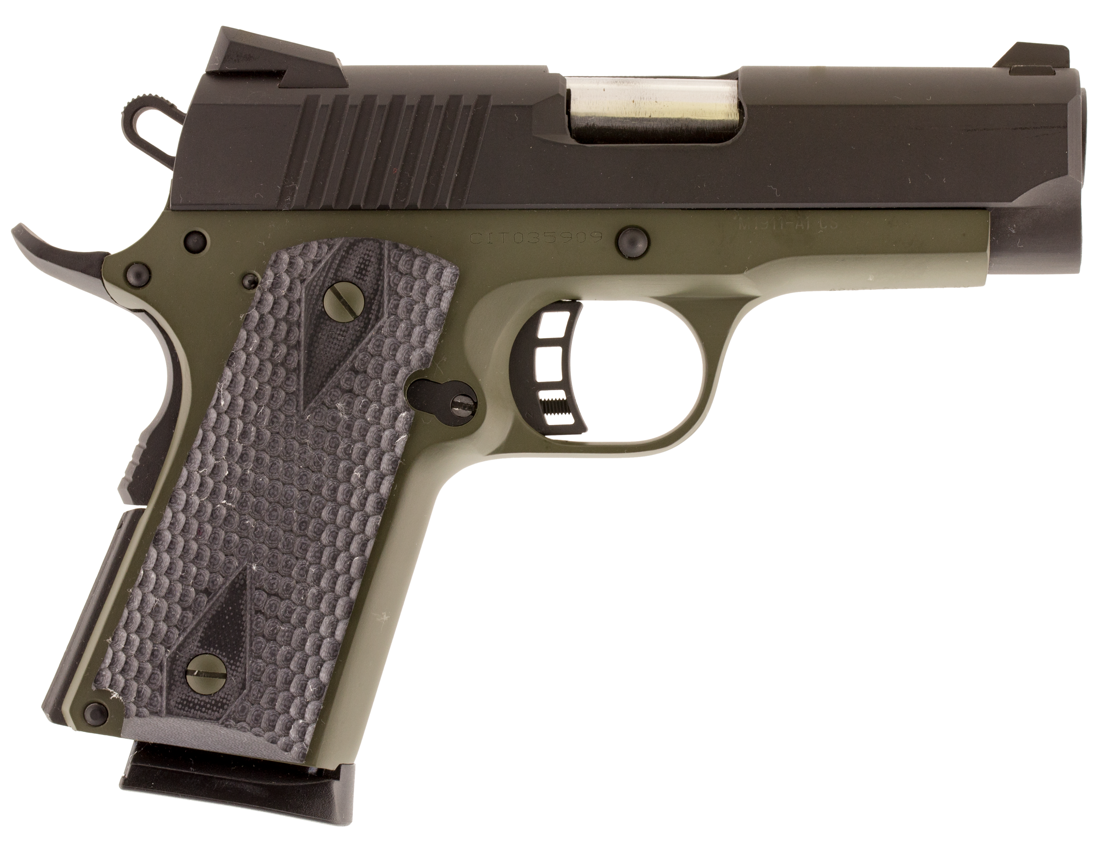 Citadel C45CS200190H M-1911 Compact Single 45 ACP 3.5