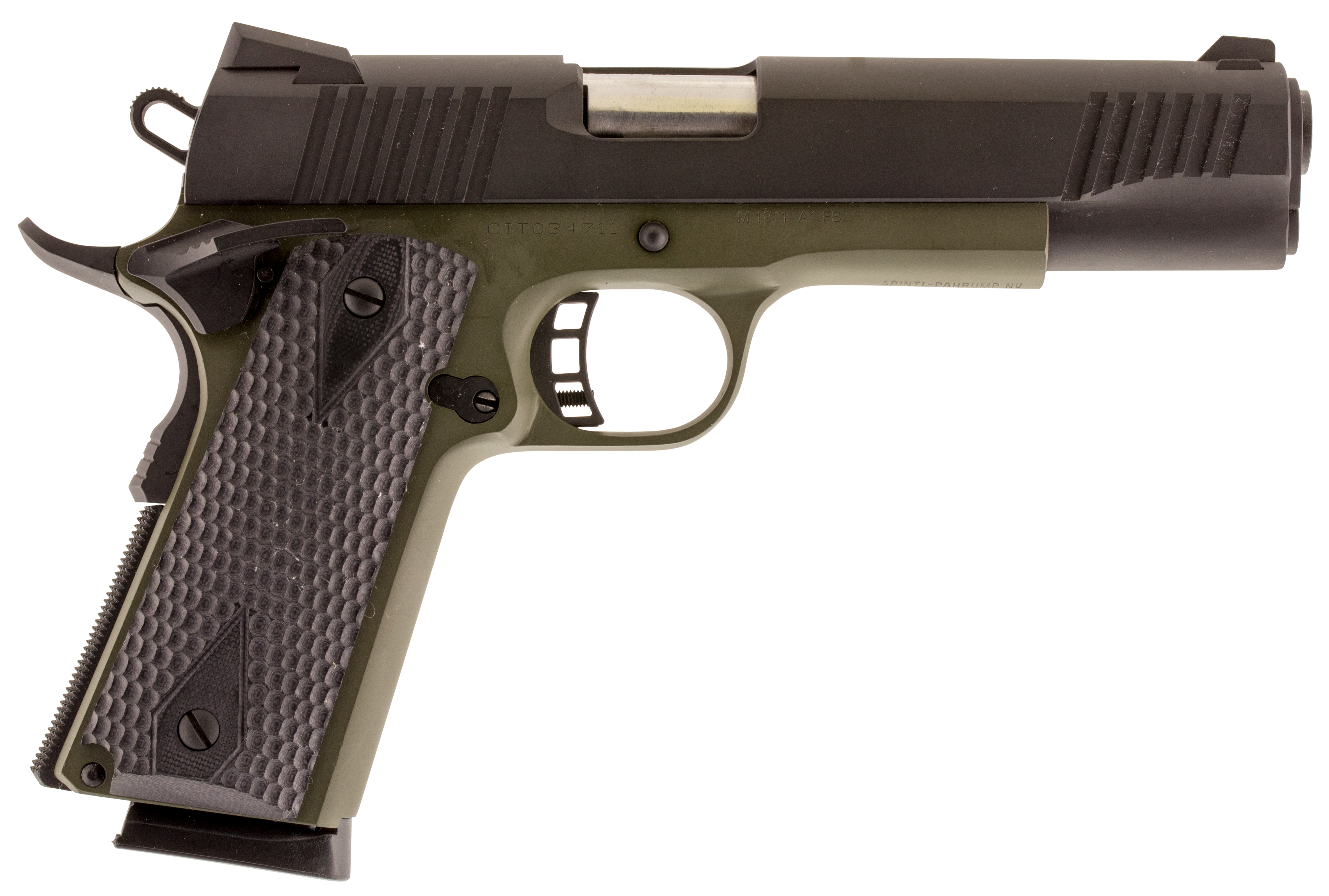 Citadel C45FS200190H00 M-1911 Cerakote Full Size Single 45 ACP 5