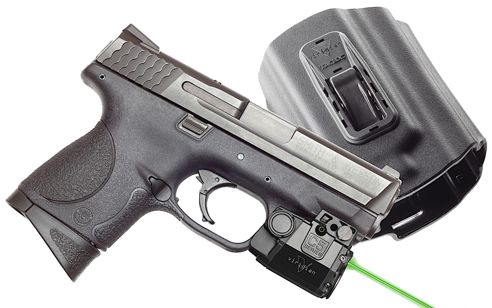 Viridian C5LPACKC2 C5L with Holster Green Laser S&W M&P Trigger Guard