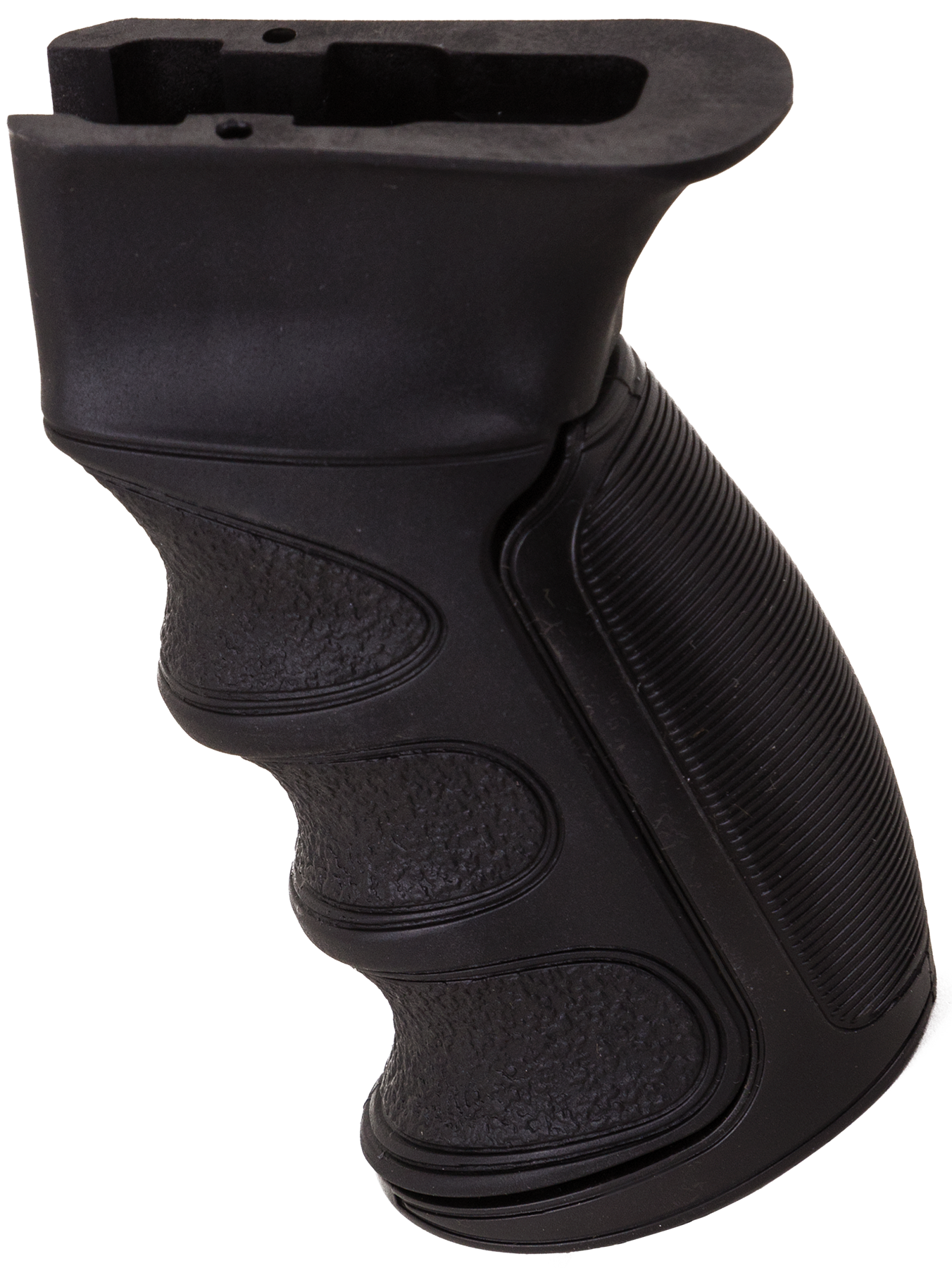 Advanced Technology A5102346 X1 Finger Groove Pistol Grip AK-47 Glass-Filled Nylon Black