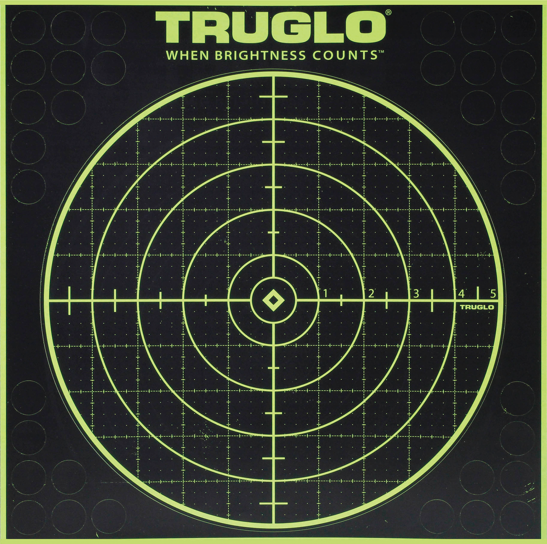 Truglo TG10A6 Tru-See Paper Target 6