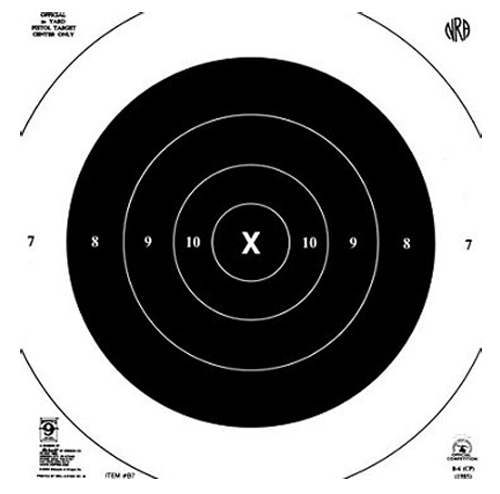 Hoppes B7T 50yd Slow Fire 10x10 20 Pack