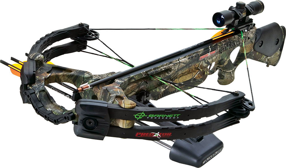 Barnett 78015 Predator Crossbow 375 FPS 4x32mm Scope 22