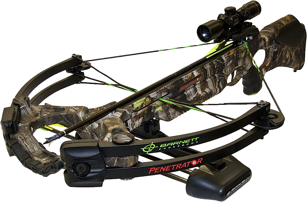 Barnett 78401 Penetrator Crossbow 350 FPS 4x32mm Scope 20