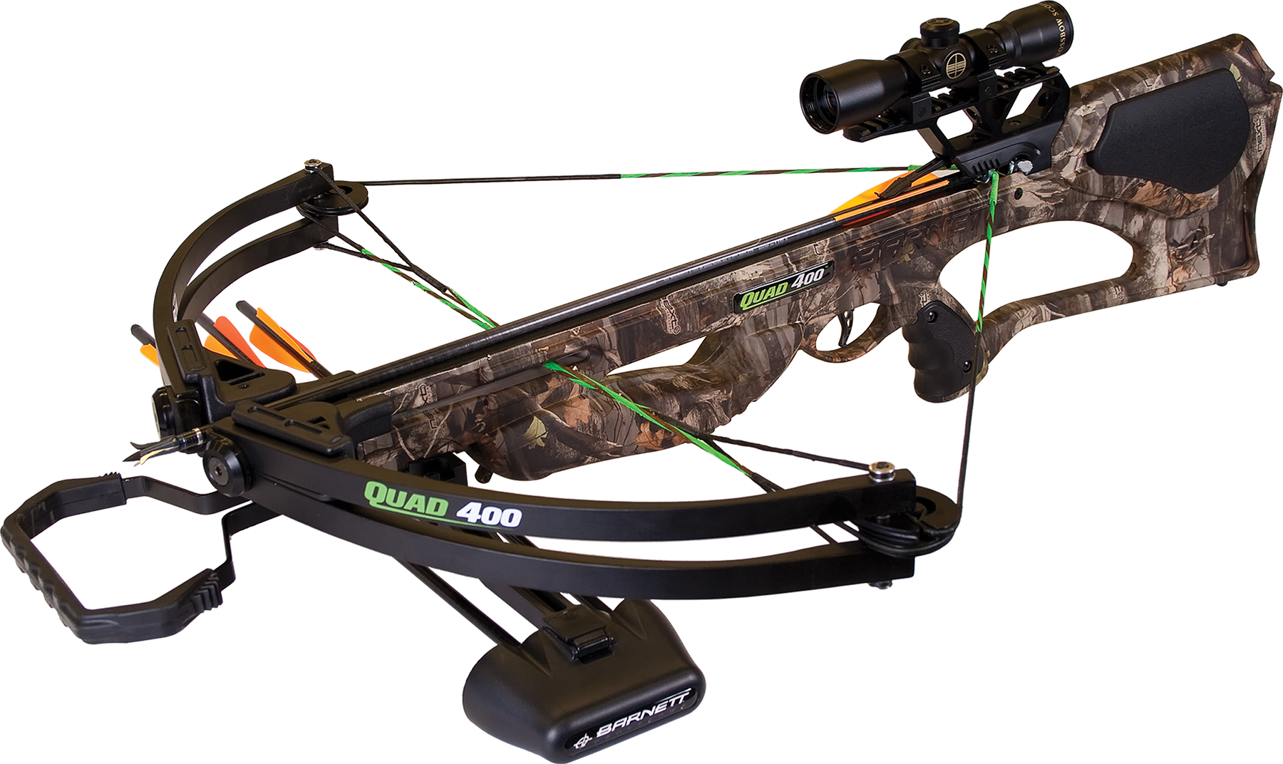 Barnett 78032 Quad 400 Crossbow 345 FPS 4x32mm Scope 22