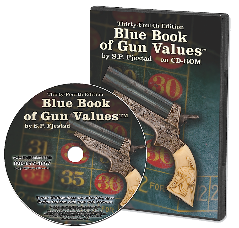 Blue Book Of Gun Values Volume 34 CD/ROM