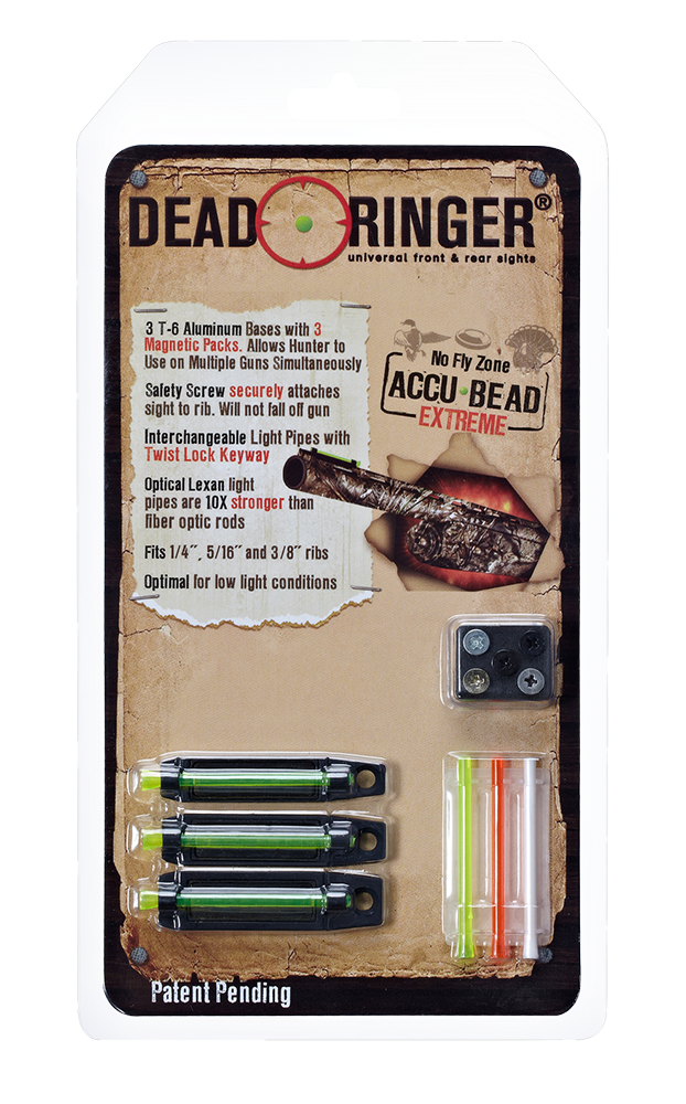 Dead Ringer DR4393 Accu-Bead Extreme Front Sight Magnetic Green