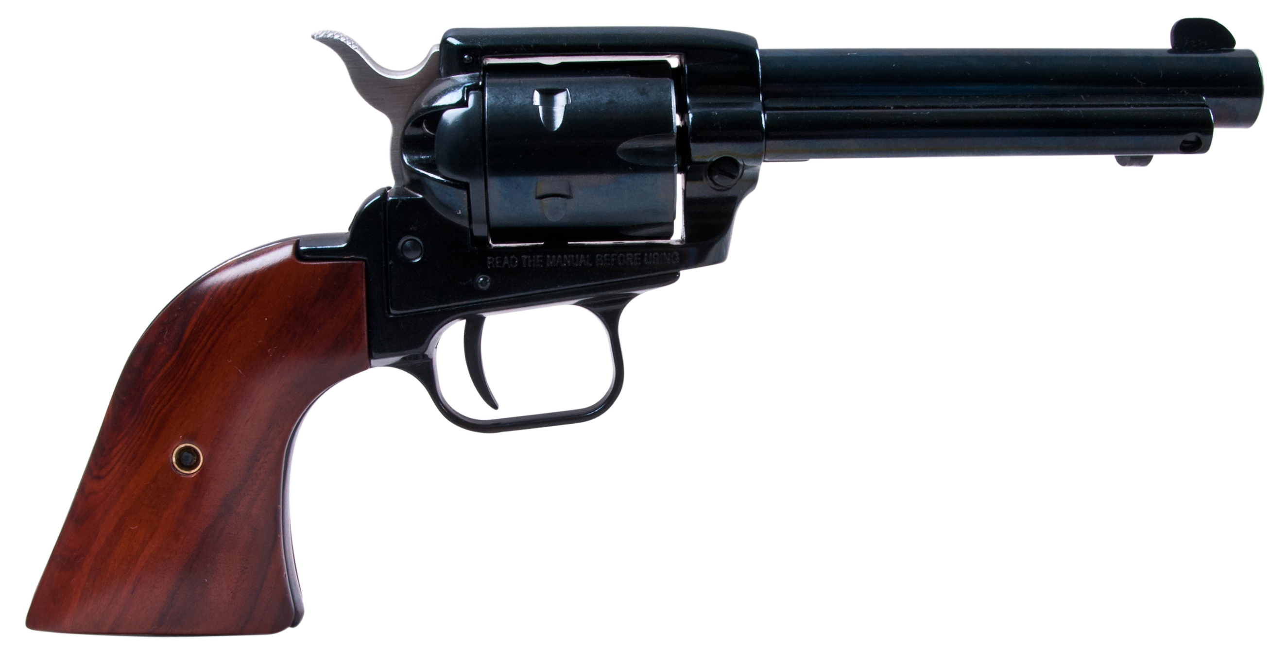Heritage Mfg RR22MB4 Rough Rider Small Bore Single 22 Long Rifle (LR) w/22 WMR Cylinder 4.75