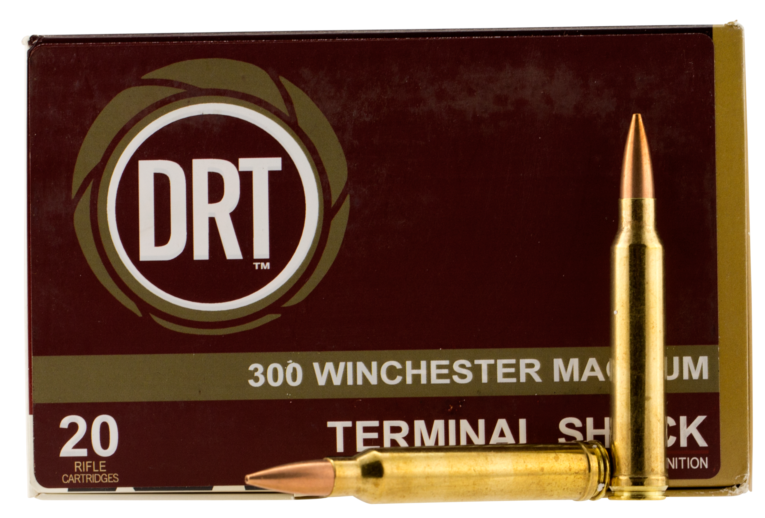 Dynamic Research Tech 00178 Terminal Shock 300 Winchester Magnum 150 GR Hollow Point Boat Tail 20 Bx/ 50 Cs