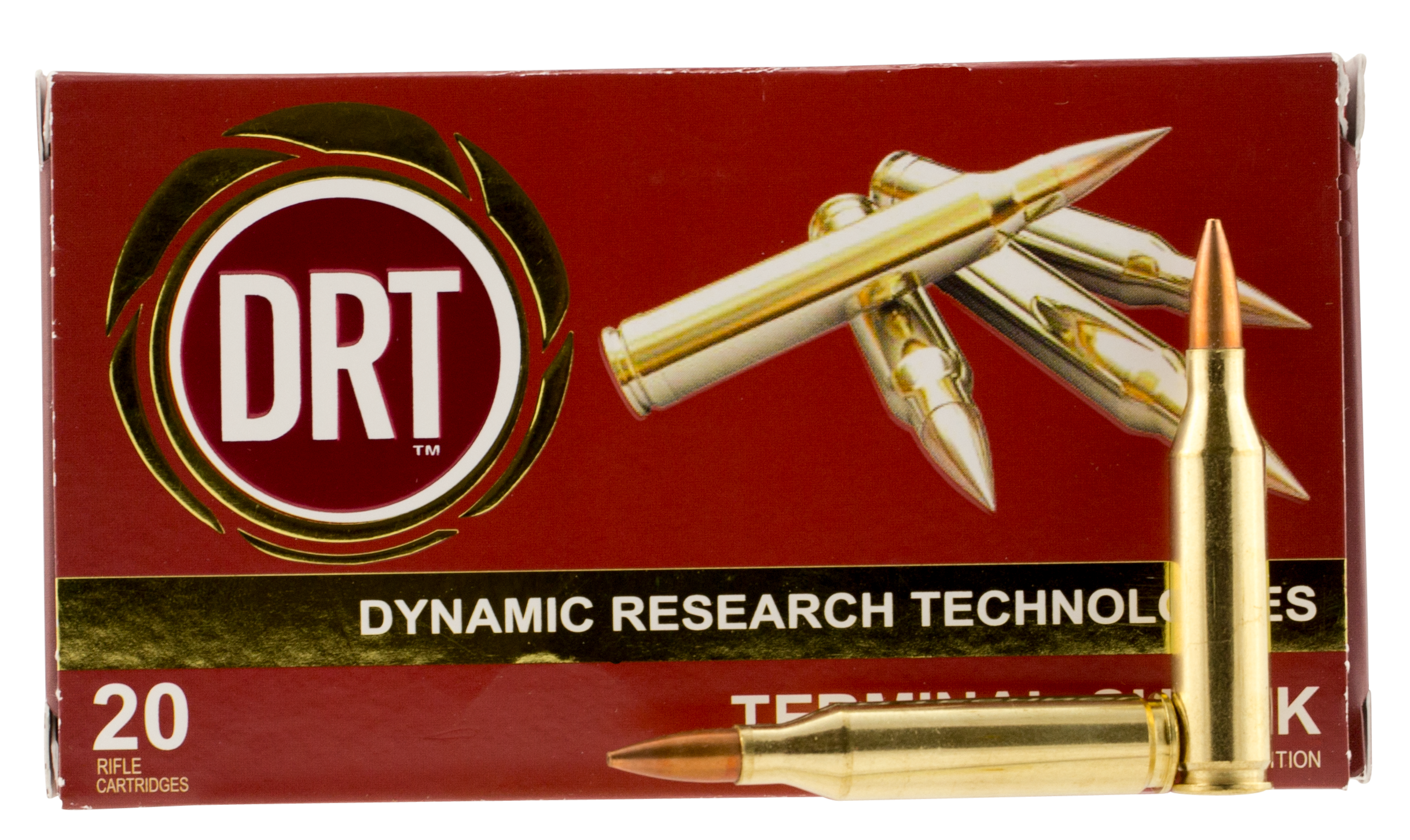 Dynamic Research Tech 00175 Terminal Shock 243 Winchester 95 GR Hollow Point Boat Tail 20 Bx/ 50 Cs