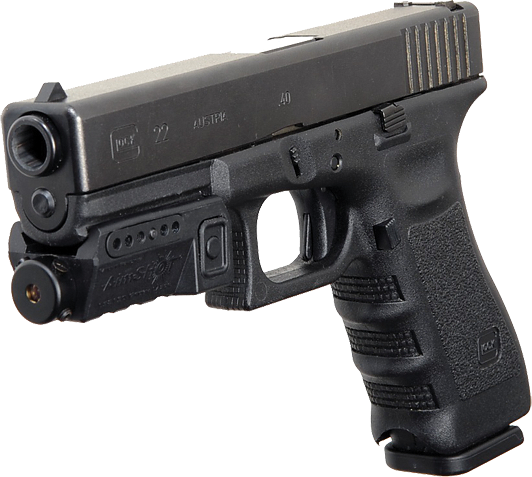 Aimshot KT8150 Compact Pistol Green Laser w/Rail Integrated Rail Mount