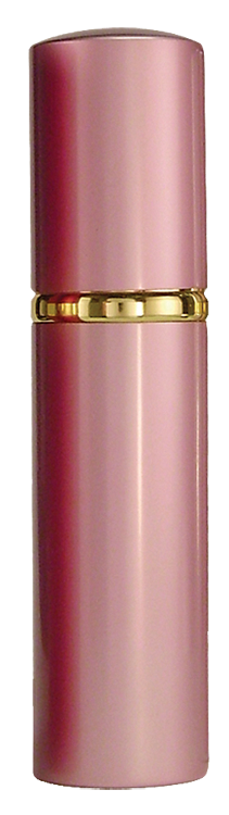 Eliminator LSPS14PI Hot Lips Pepper Spray Lipstick Tube.75 oz Sprays 10ft Pink
