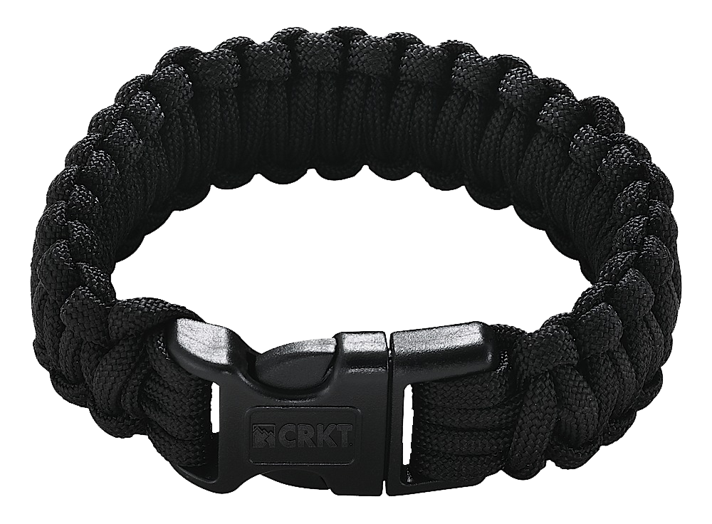 Columbia River 9300KL Onion Survival Para Saw Bracelet Black Large