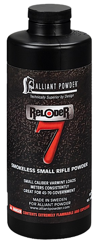 Alliant 150653 Reloader 7 Smokeless Small Rifle Powder 5lbs 1 Canister