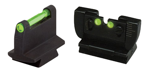 Hiviz RG1001 Front/Rear Combo Sight Ruger 10-22 Grn Rear 6 Interchangeable Front