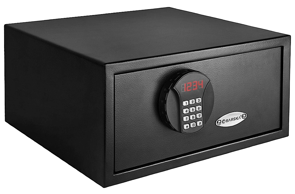 Barska AX11618 Digital Keypad Security Safe Black