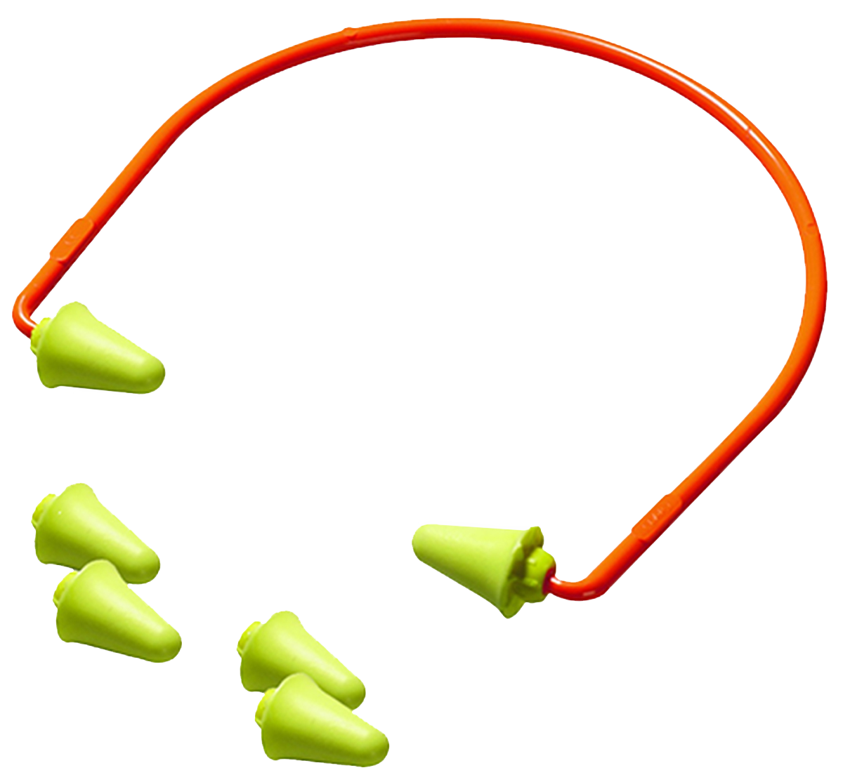 3M Peltor 97065 Banded Earplugs 28 dB Orange 1 Pair