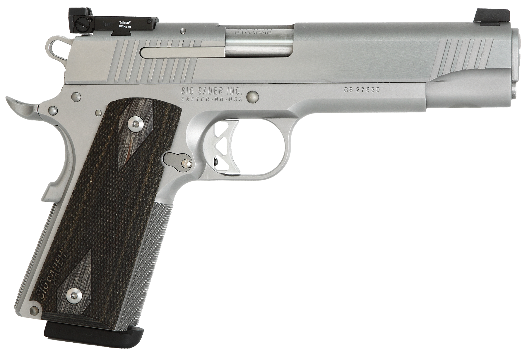 Sig 1911T38SME 1911 Traditional Match Elite 38Super 5
