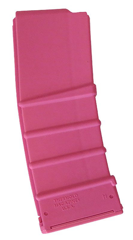 Thermold M16AR1530 AR-15/M-16 5.56mm and .223 30rd Pink Zytel Nylon