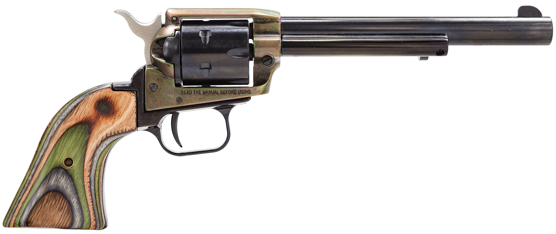Heritage Mfg RR22CH6 Rough Rider Small Bore Single 22 Long Rifle 6.5