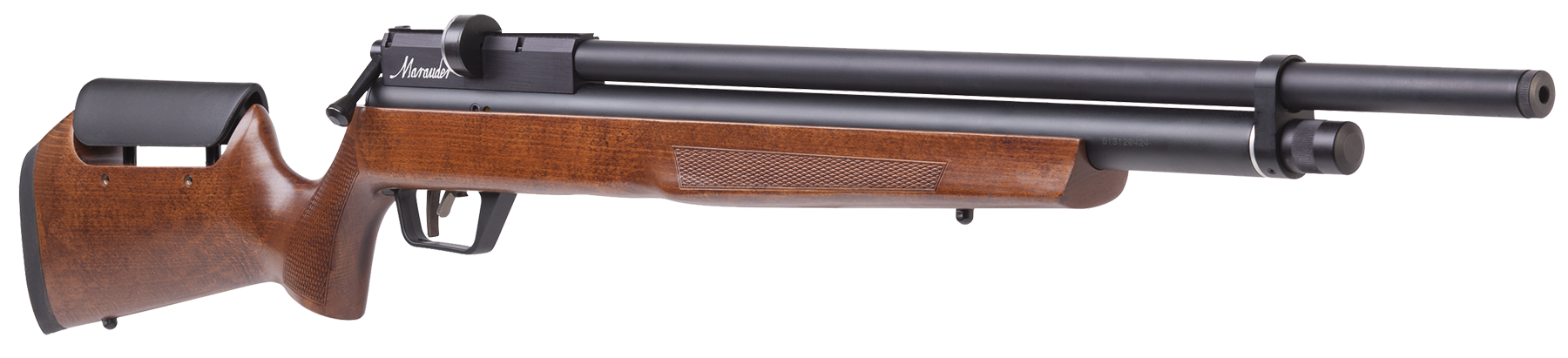 Benjamin BP2564W Marauder Air Rifle Bolt .25 Pellet Hardwood Stock