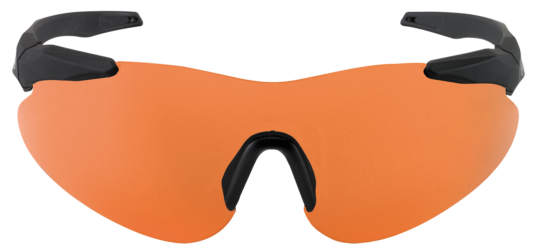 Beretta OCA100020407 Soft Touch Shooting Glasses Black Frame Orange Lenses
