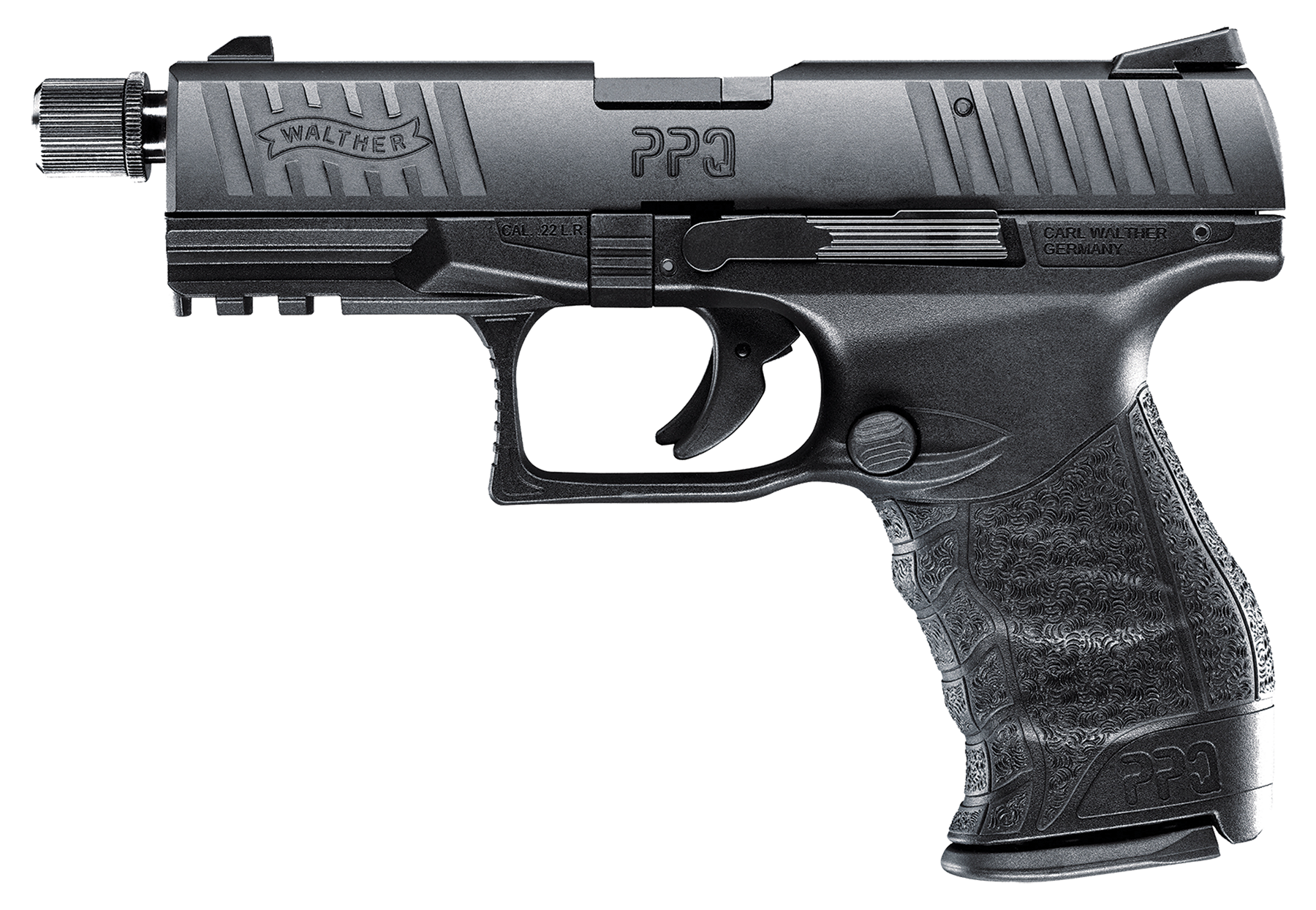 Walther Arms 5100301 PPQ M2 Tactical Single 22 Long Rifle (LR) 4.6