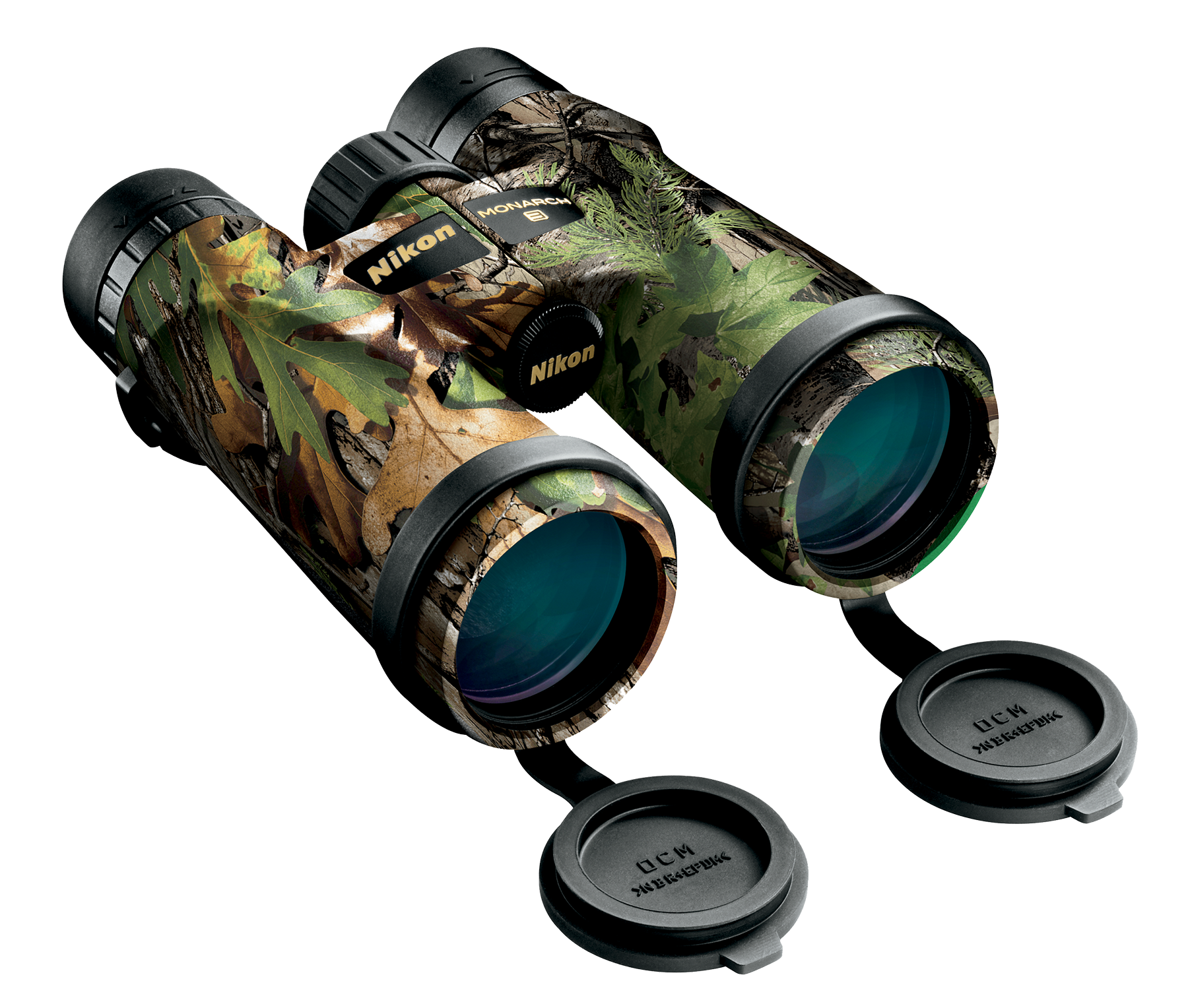 Nikon 16006 Monarch 8x 42mm 330 ft @ 1000 yds FOV 24.1mm Eye Relief Realtree Xtra Green
