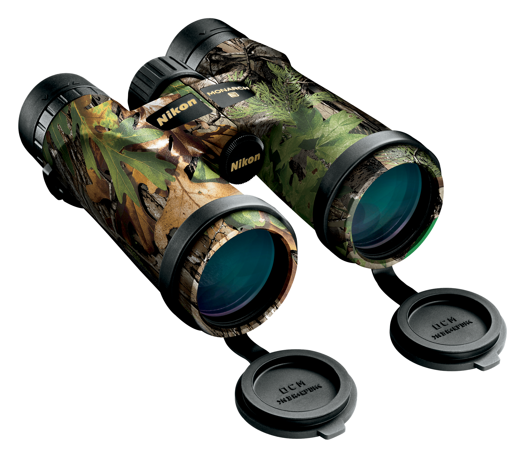 Nikon 16007 Monarch 10x 42mm 330 ft @ 1000 yds FOV 24.1mm Eye Relief Realtree Xtra Green