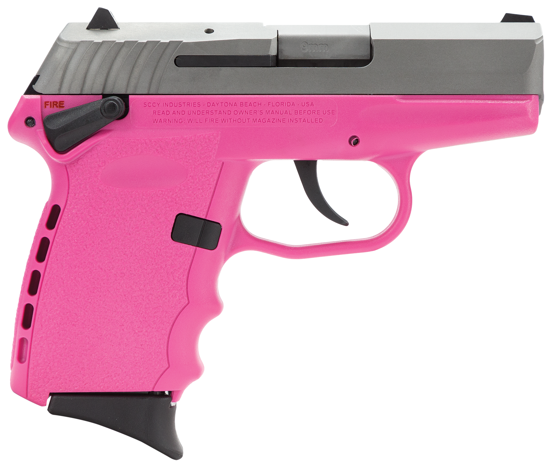 SCCY Industries CPX1TTPK CPX-1 Double 9mm 3.1