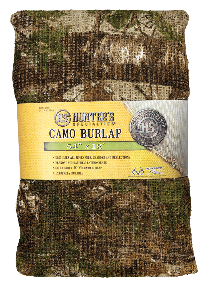 HuntersSpecial 07221 Blind Burlap Realtree Xtra Green 12ftx54in