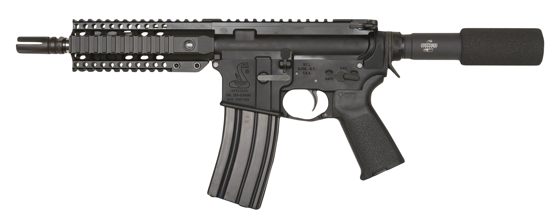 Bushmaster 91020 XM15 Enhanced Patrolmans AR Pstl SA 223Rem/5.56NATO 7