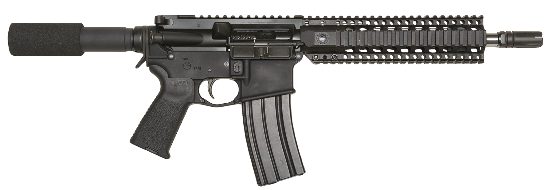 Bushmaster 91022 XM-15 Enhanced Patrolmans AR Pstl SA 223Rem/5.56 10.5