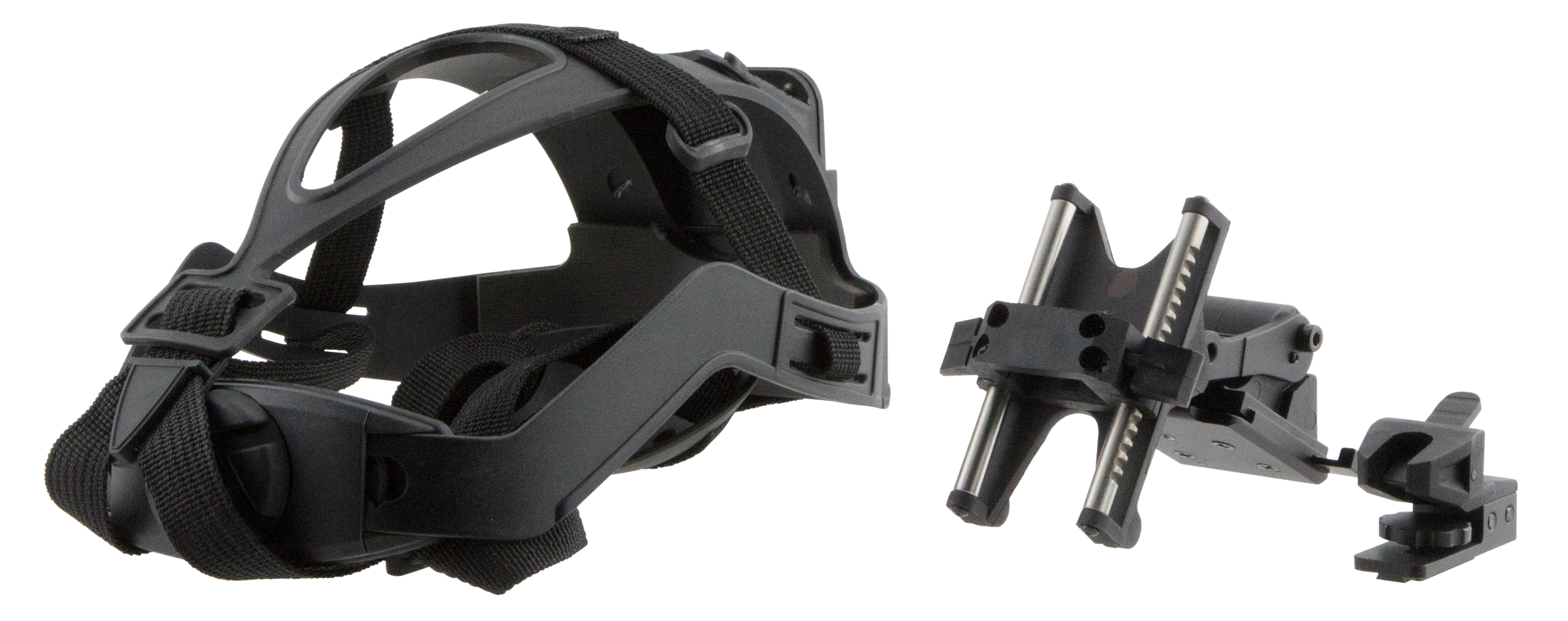 ATN ACGONVG7HMN Universal MICH Helmet Mount For NVG7 Multiple Position Style Black Finish