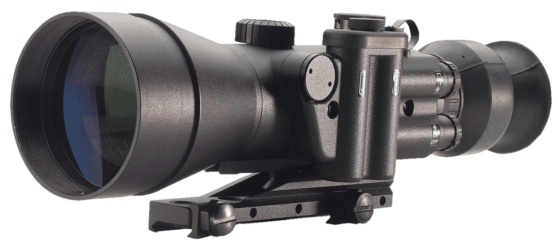 Night Optics NS-740-2BW D-740 Night Vision Scope Gen 2+ 4x 100m 525ft @ 1000yds