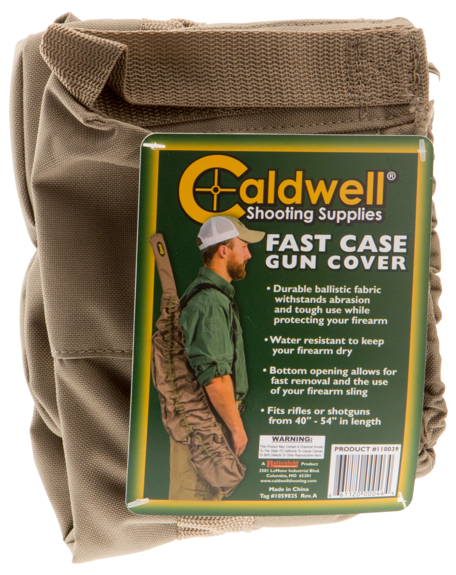 Caldwell 110039 Fast Case Rifle/Shotgun Cover