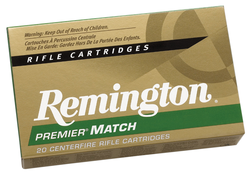 Remington 11204 Matched Ammo 30-06 Springfield 168 GR/180GR/168GR 300Bx/1Cs