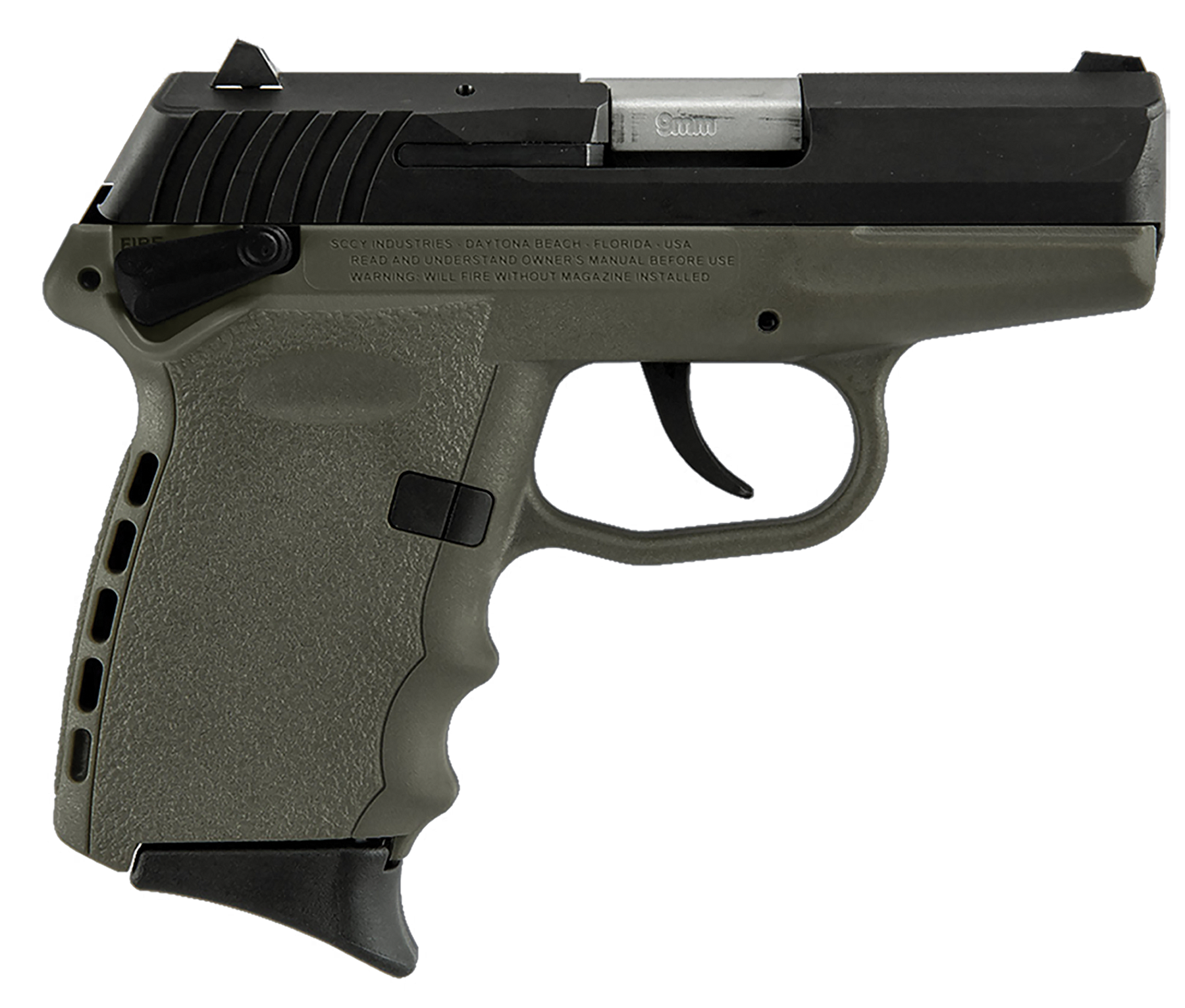 SCCY Industries CPX1CBDE CPX-1 Double 9mm 3.1