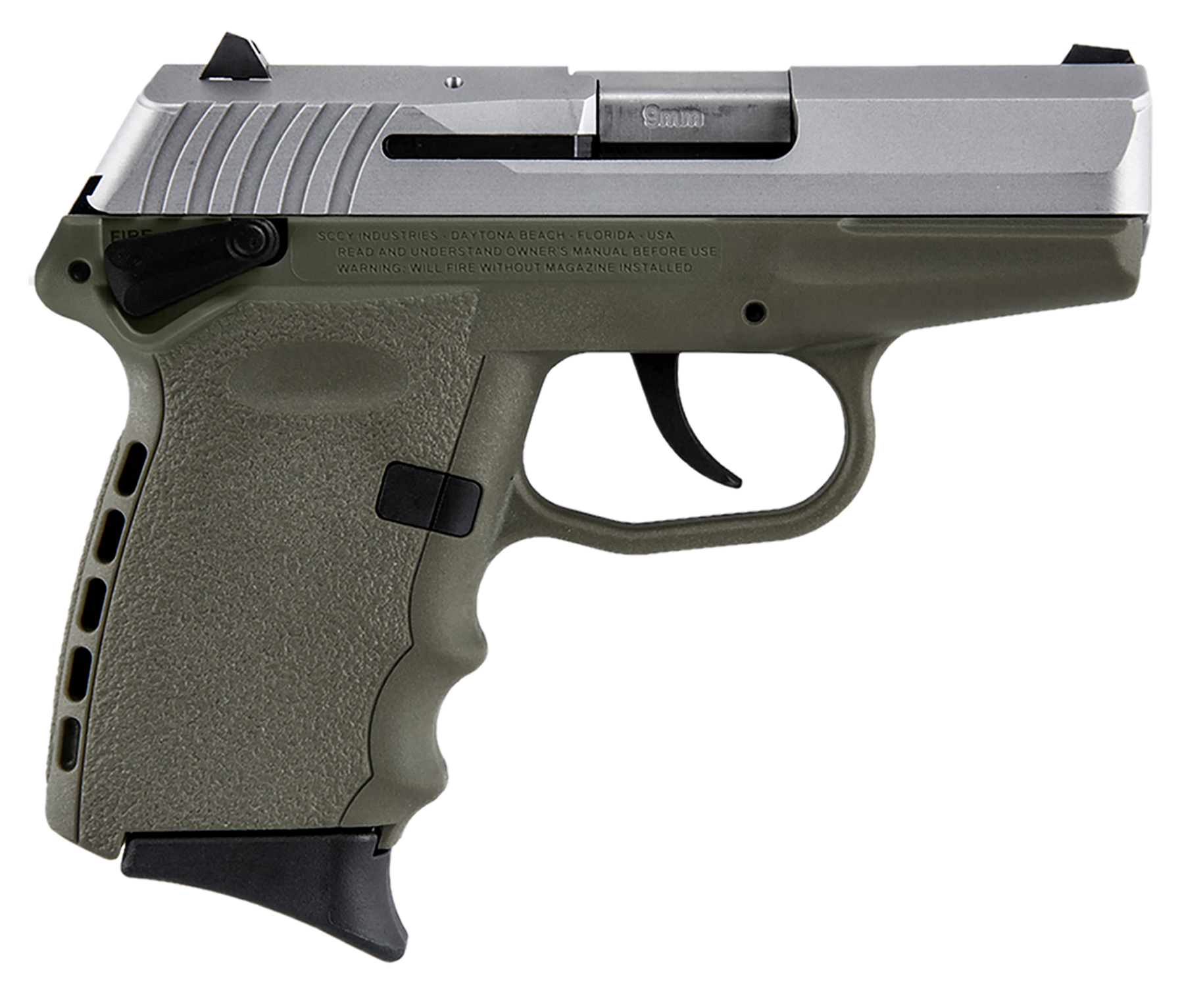 SCCY Industries CPX1TT CPX-1 Double 9mm 3.1